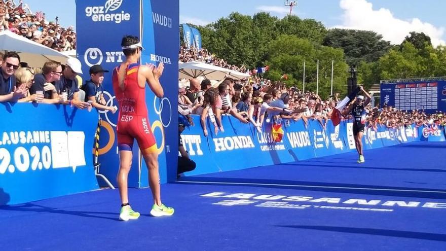 Mario Mola queda subcampeón en el Mundial de triatlón