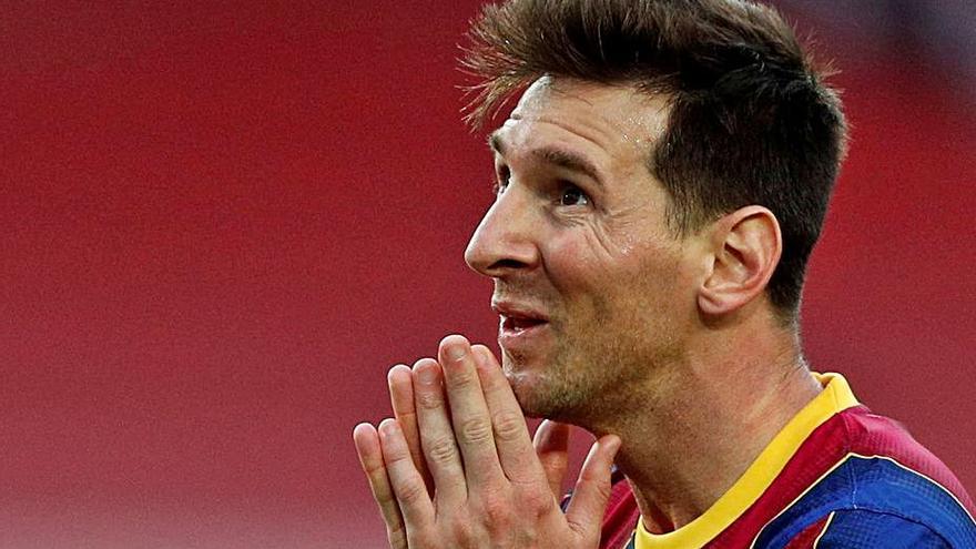 Leo Messi deixa el Barça