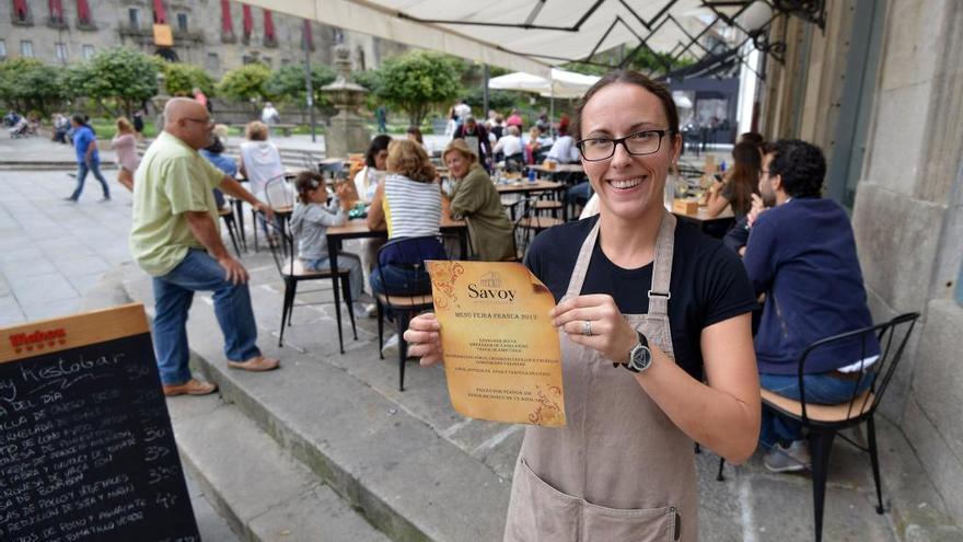 Feira Franca 2017   El menú del medievo llenará los locales de Pontevedra
