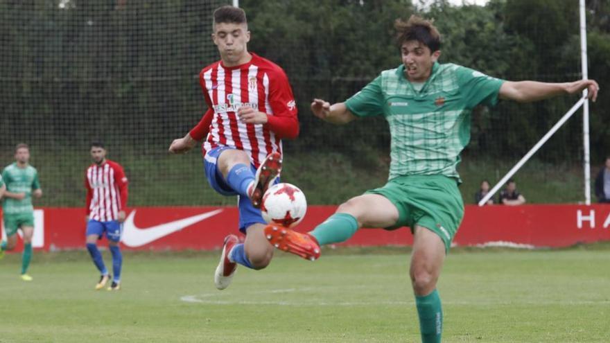 El Sporting de Gijón B se mide al Elche en la segunda ronda del ascenso a Segunda