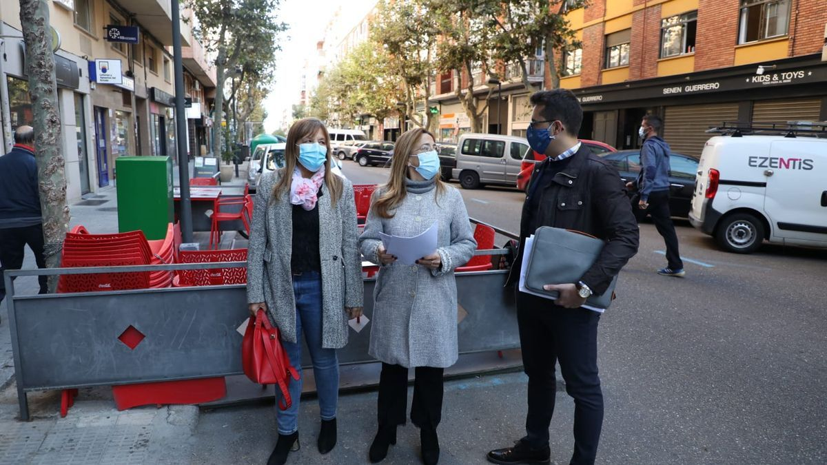 Los concejales del Partido Popular en el Ayuntamiento de Zamora.