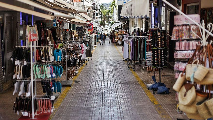 Los comerciantes no saben nada de la nueva ordenanza de Sant Antoni