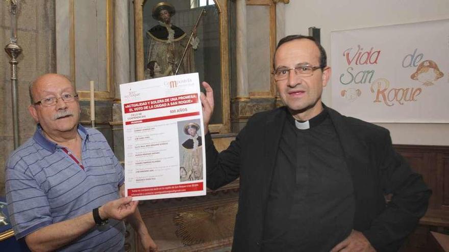 Cuenta atrás en Compostela para iniciar el año jubilar en honor a San Roque