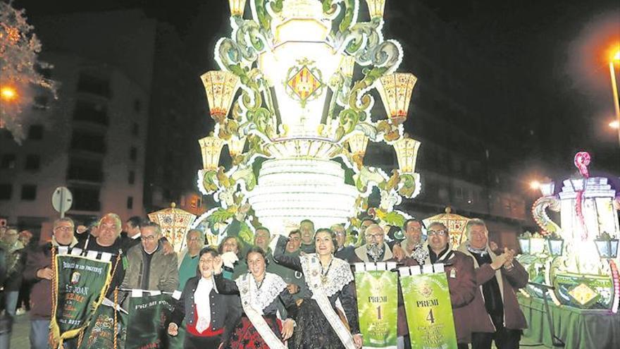 La réplica de la gaiata de la ciudad viajará a la Generalitat en fiestas
