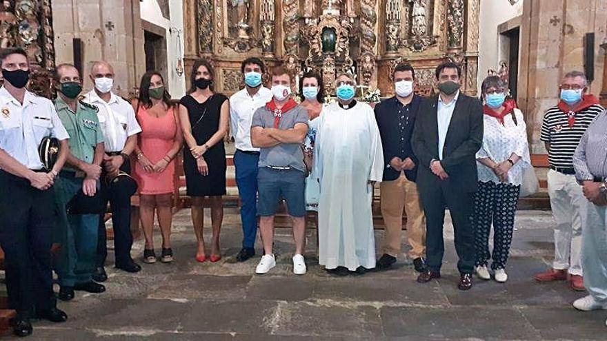 Luarca celebra la fiesta del Rosario más contenida