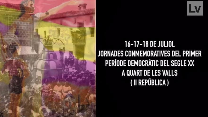 El Molí de Quart de les Valls, rinde homenaje al alcalde y a los ediles de la República.