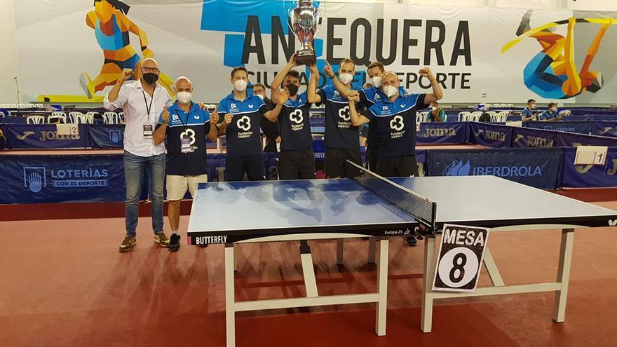 El Real Cajasur Priego conquista su séptimo título de la Superdivisión de tenis de mesa