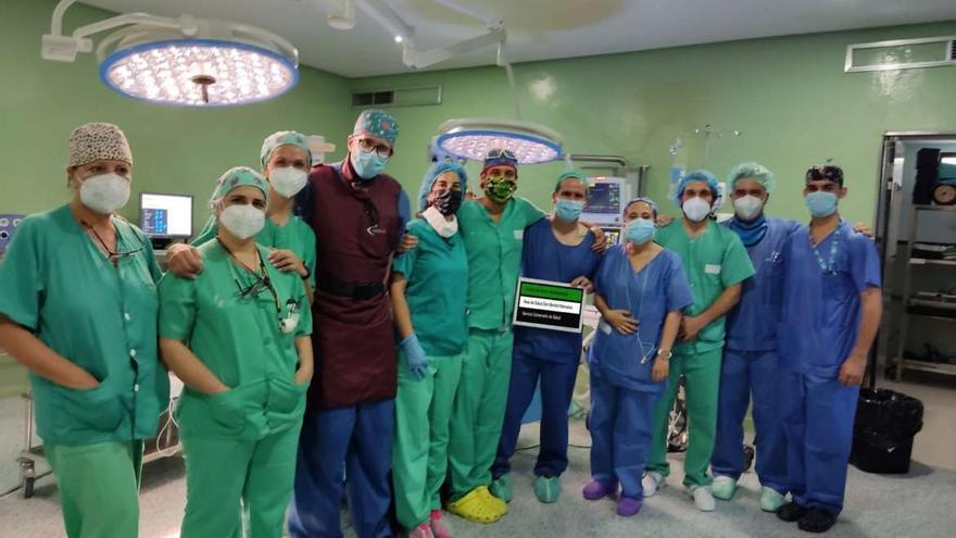 Avance pionero en el tratamiento de hernias discales en el Área de Salud Don Benito-Villanueva