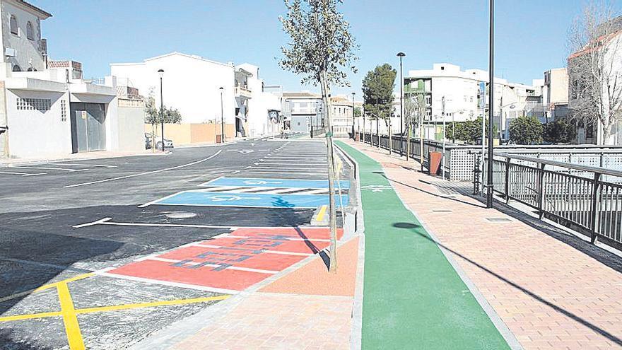 Ondara gana más espacio peatonal y para bicicletas