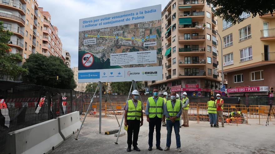 Un nuevo colector evitará los vertidos de aguas residuales de Palma al mar