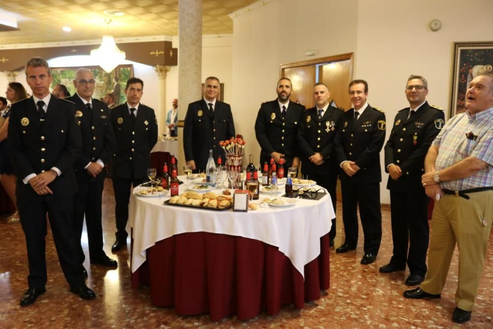 Celebración en Albal de la fiesta de la comandancia de la Guardia Civil de Alfafar.