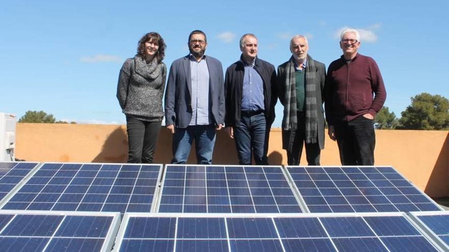 Las placas solares cubren ya un 6,7% de la energía anual de la depuradora de Llucmajor