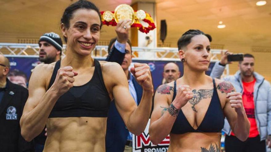 Davinia Pérez cae en la pelea por el título nacional del peso gallo
