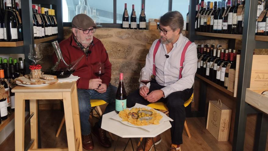 El vino y Gogue estrechan lazos entre O Grove y León