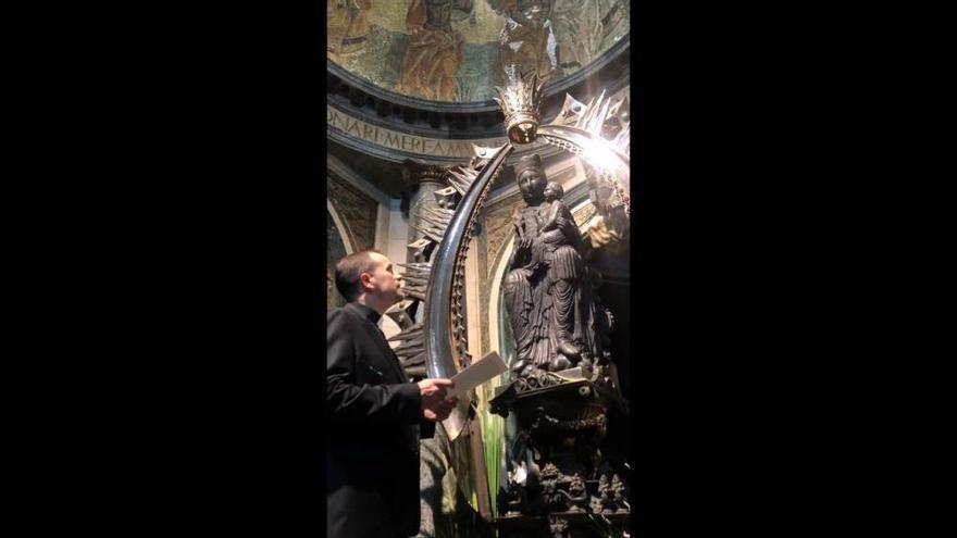 El bisbe de Solsona crida el fidels a encomanar-se a la Mare de Déu del Claustre