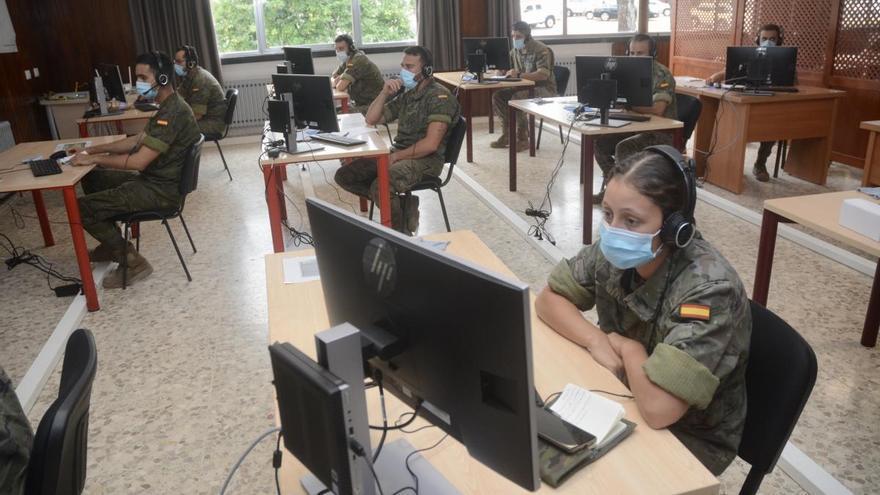 Un total de 205 militares de la Brilat y la Armada realizarán labores de rastreo en Galicia