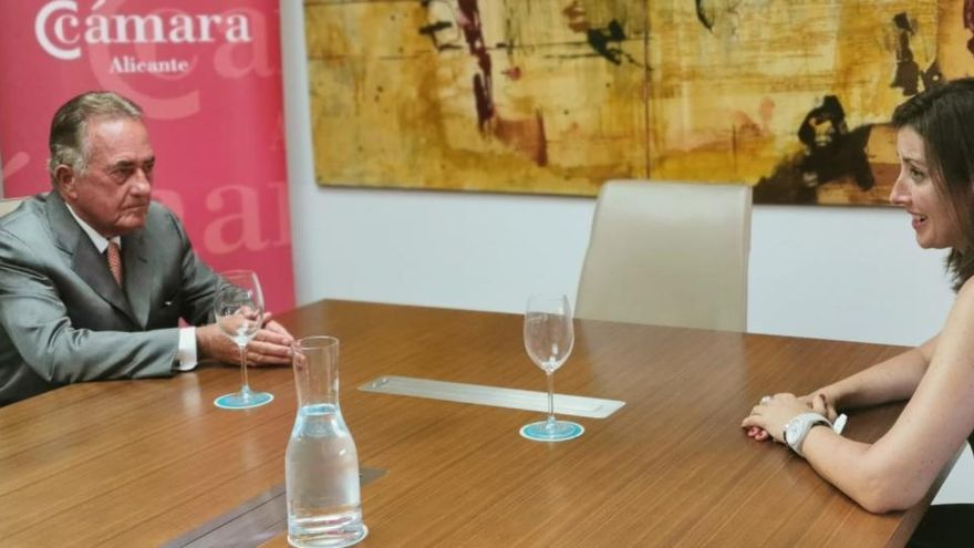 La Cámara colaborará con la Generalitat en materia de responsabilidad social