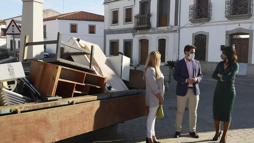 Alcaracejos recibirá 28.000 euros de ayudas de la Junta por las inundaciones