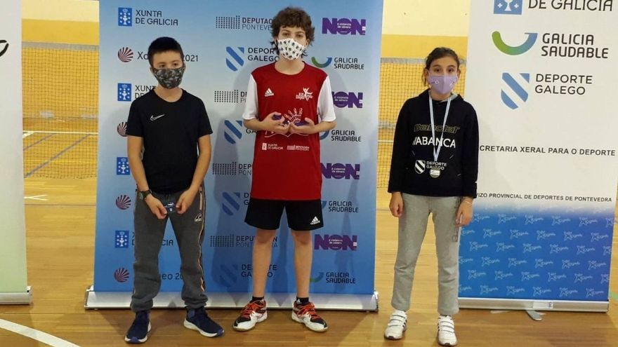 Darío Míguez se proclama doble campeón gallego