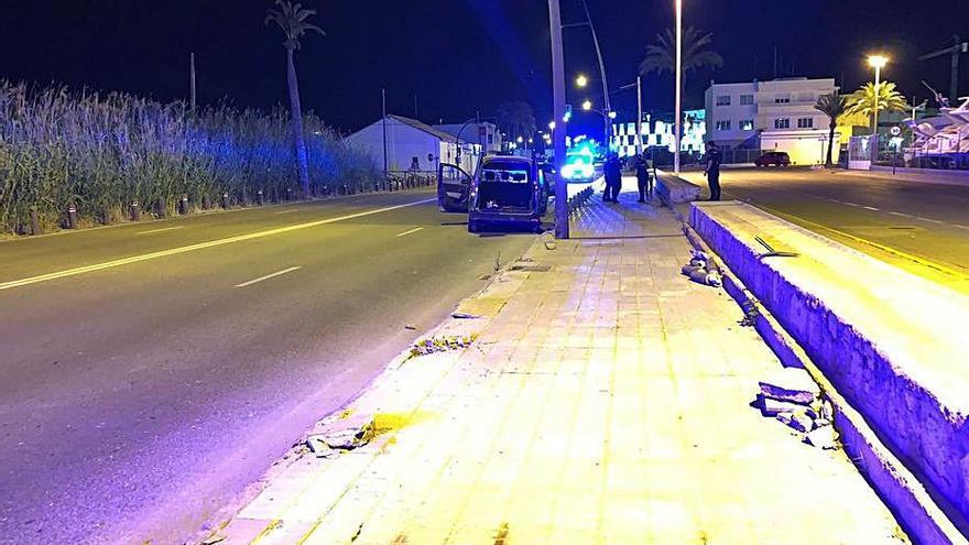En la UCI un hombre de 36 años atropellado en Sant Josep