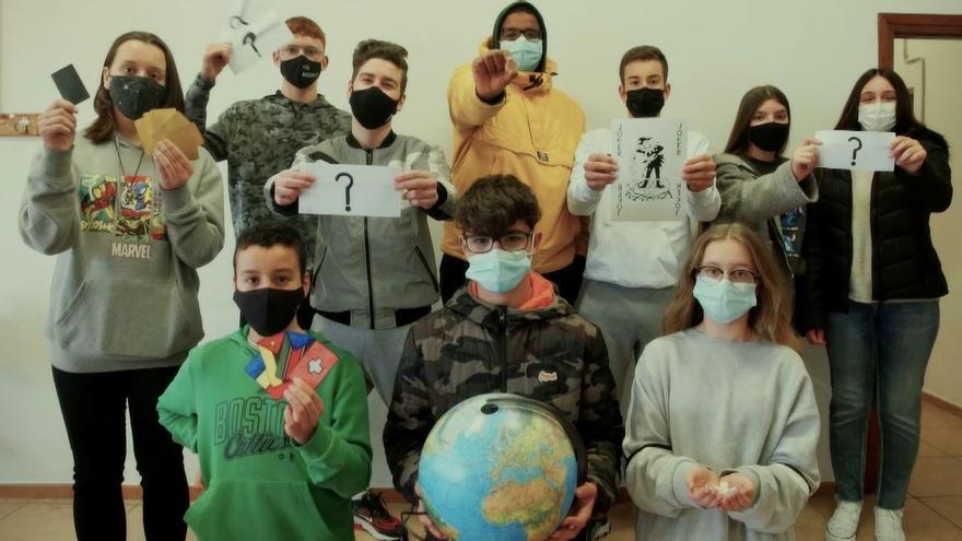 Alumnos de Fundación Flors de Vila-real contra la desigualdad
