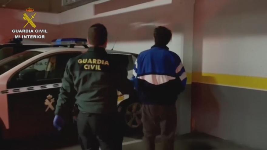 Detenidos los tres autores del robo y la paliza a un ganadero en La Granda, Langreo