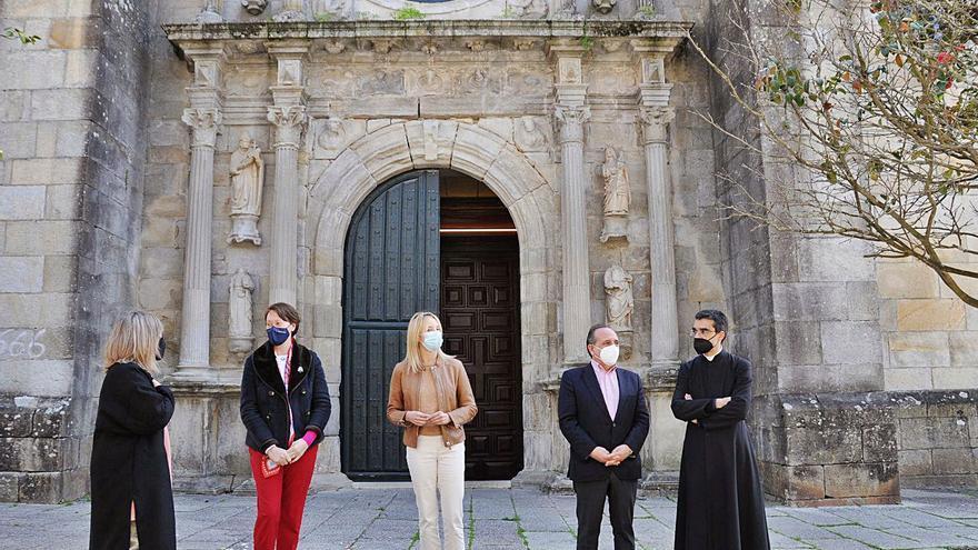 """Patrimonio atajará las sales y la humedad que causan """"daños irreparables"""" en la excolegiata"""