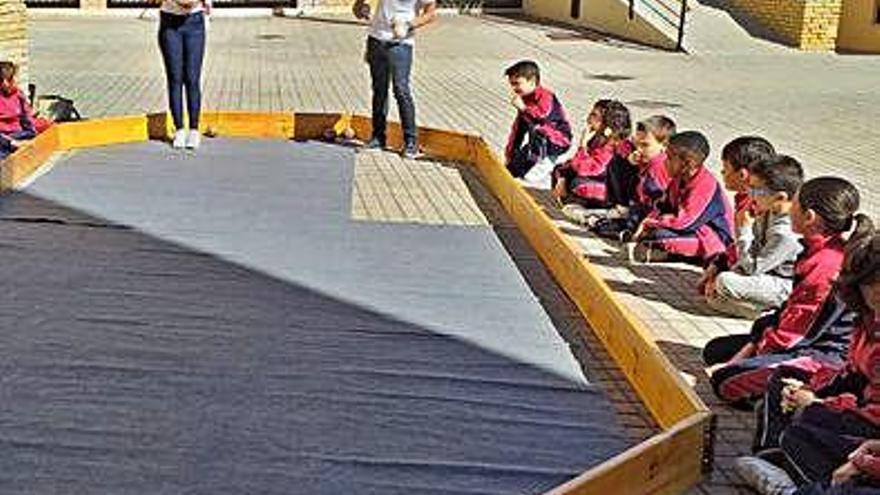 El Colegio Divina Provindencia descubre el billar romano