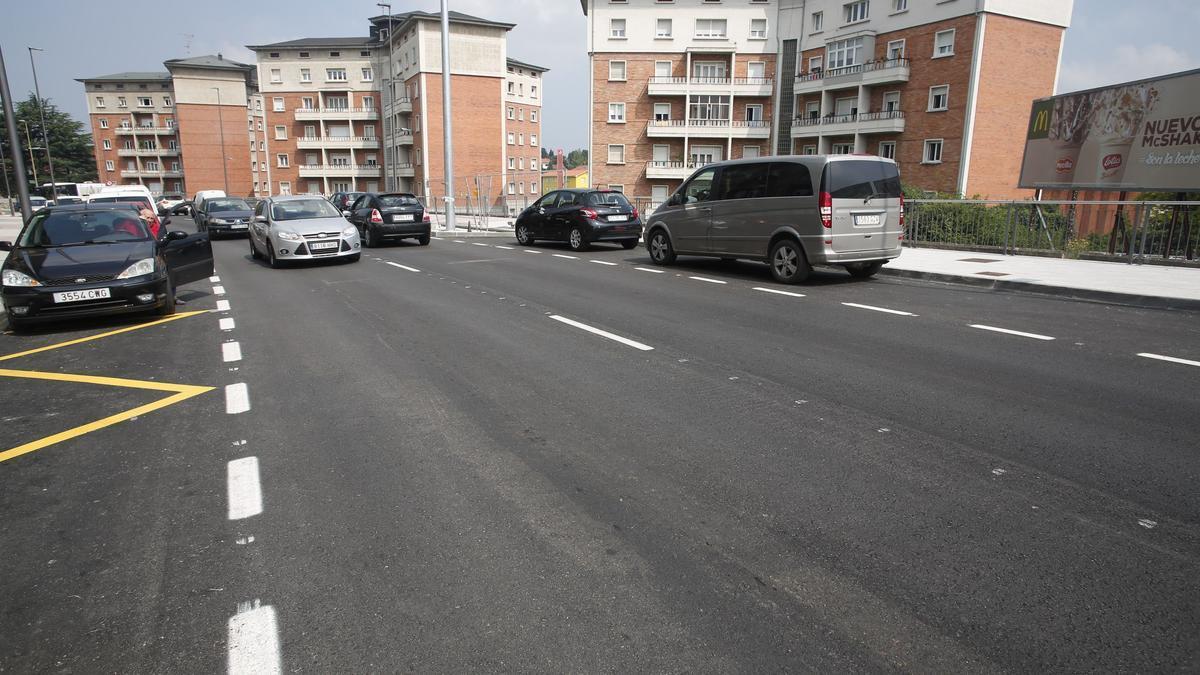 Un tramo de la avenida Santa Apolonia