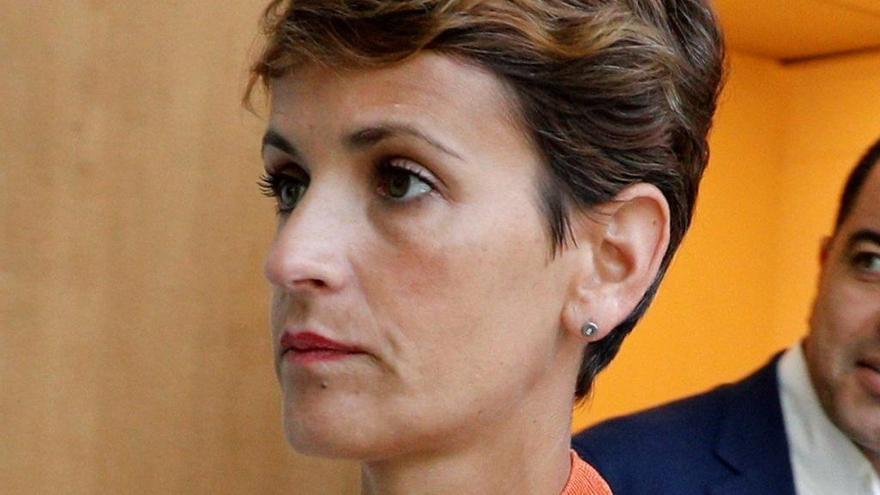 La militancia de EH Bildu apoya la abstención en la investidura de María Chivite