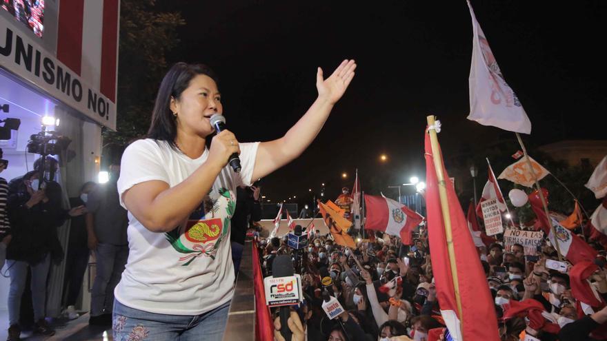 Keiko Fujimori rechaza su derrota y apunta que hay actas sin resolver