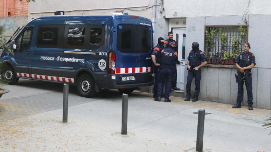 Operació dels Mossos i la policia espanyola contra la màfia armènia