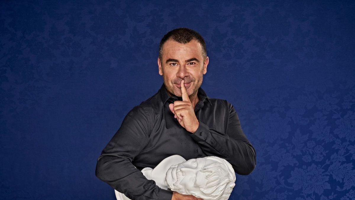 Jorge Javier Vázquez, en una imagen promocional de su espectáculo 'Desmontando a Séneca'. / SERVICIO ESPECIAL