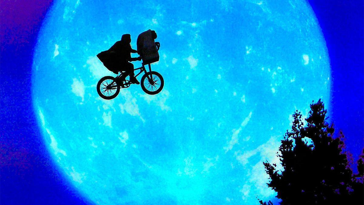 Una imagen de 'E.T., el extraterrestre'.