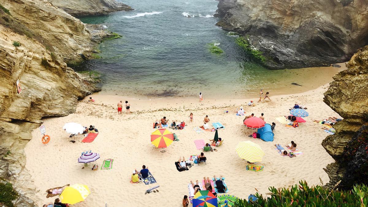 Playa portuguesa de Porto Covo