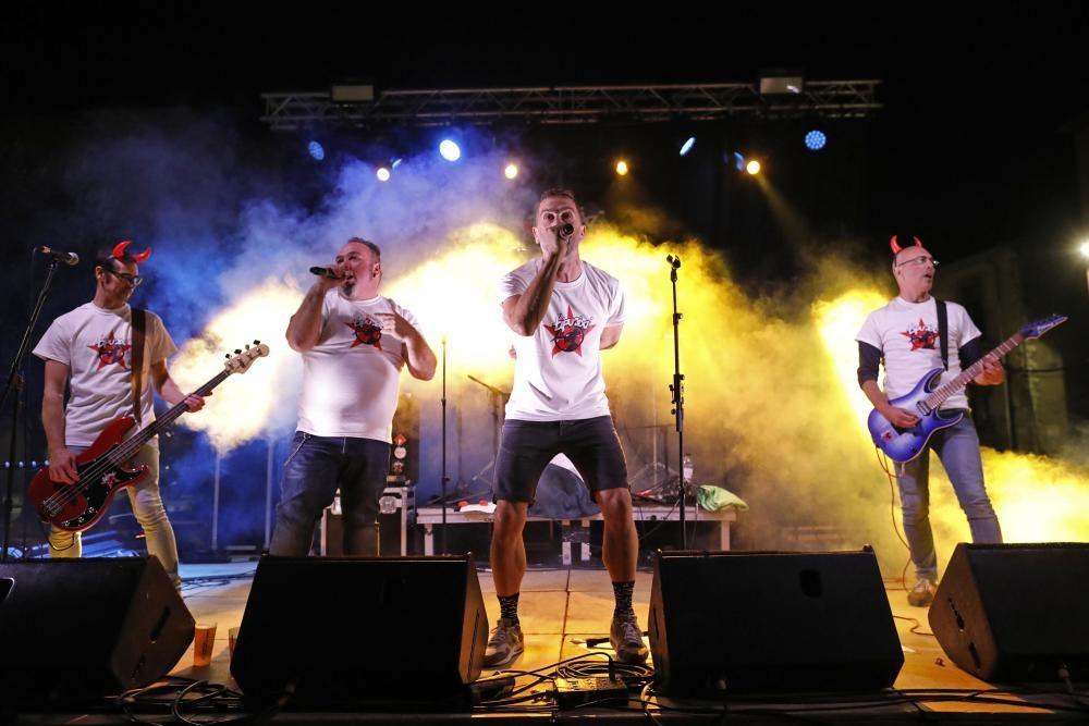 Tipuaixí es reuneix en el 8è Sant Pere Rock