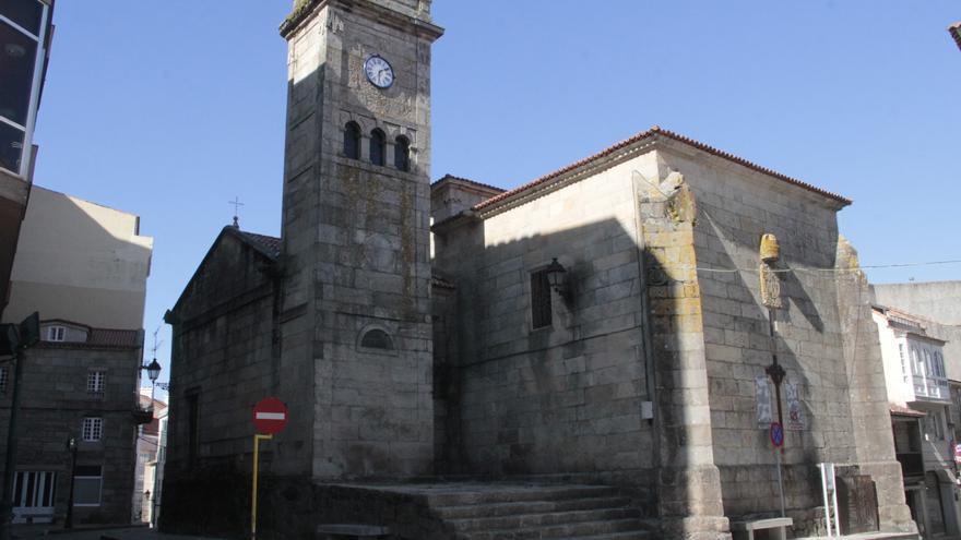 El viejo templo de Marín afronta seis meses de obras para su restauración exterior