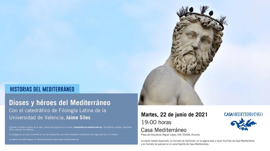 Dioses y héroes del Mediterráneo