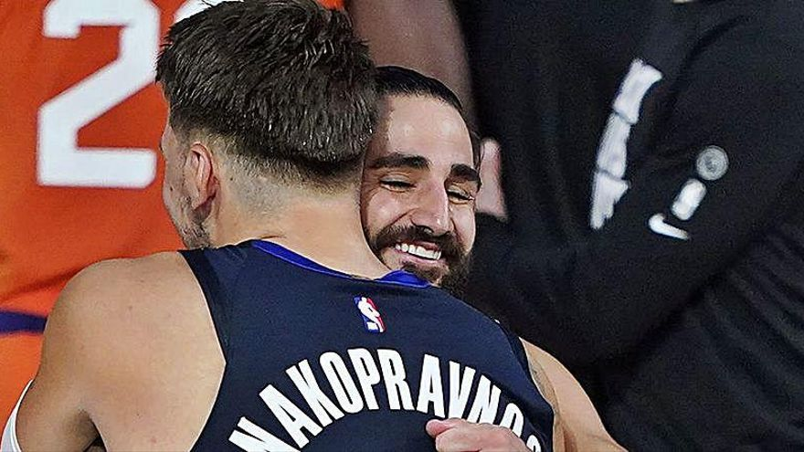 Los 40 puntos de Doncic no impidieron la segunda derrota consecutiva de los Mavericks