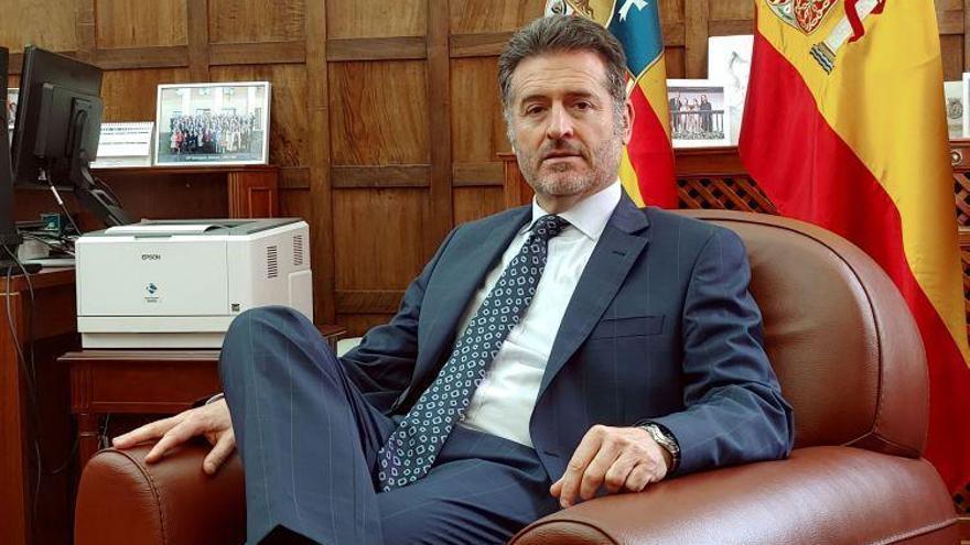 Manuel Bellido: «El enigma es saber cuántos asuntos entrarán por la crisis»