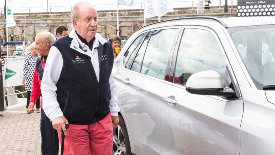 ¿Piensa Juan Carlos de Borbón mudarse a Sanxenxo?
