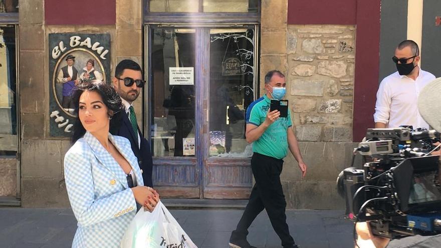 Georgina, la novia de Cristiano Ronaldo, revoluciona Jaca con su visita