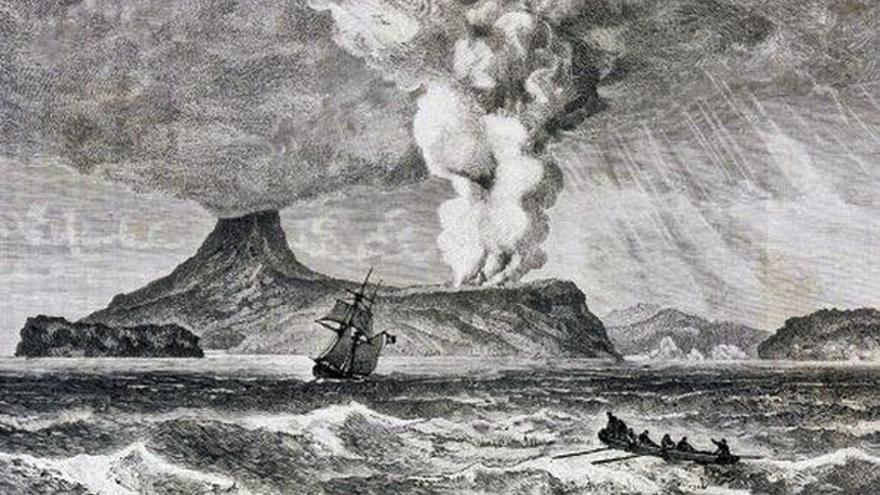 Volcanes que dejaron huella: El Krakatoa, en Indonesia