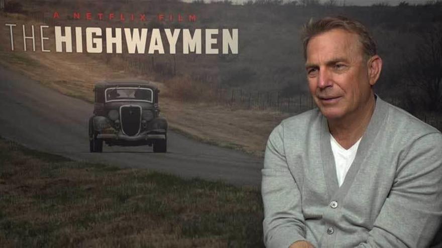 """Kevin Costner reescribe la historia de Bonnie & Clyde: """"Eran asesinos"""""""