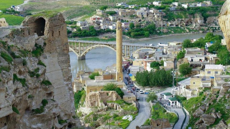 Turquía sumerge una localidad de 12.000 años de historia para crear una presa