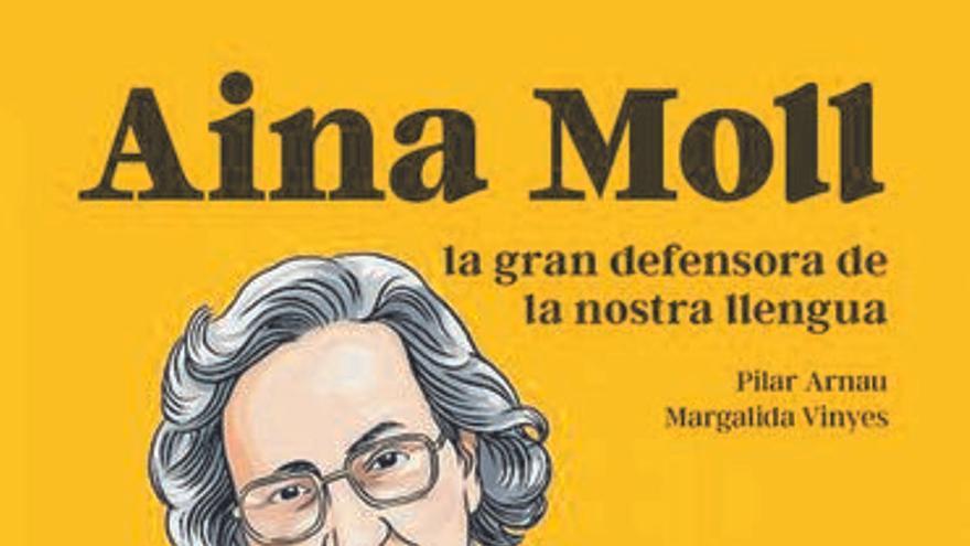 Pilar Arnau y Marga Vinyes dan forma a un cómic educativo sobre Aina Moll