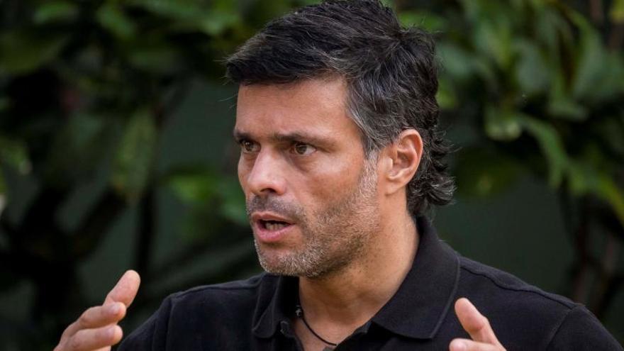 Leopoldo López no descarta una intervención militar en Venezuela