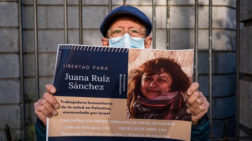 """El abogado de Juana Ruiz carga contra Israel: """"Busca criminalizar toda actividad humanitaria"""""""