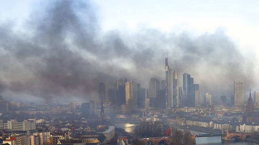 Incidentes en Fráncfort por la nueva sede del BCE