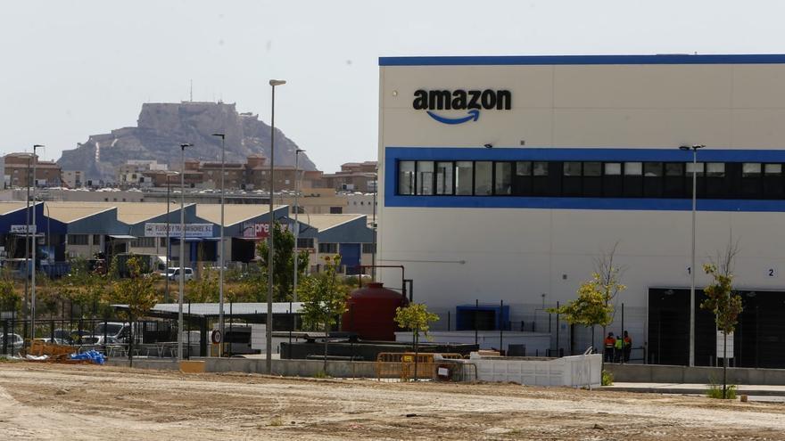 Amazon pone en funcionamiento su estación logística de Alicante
